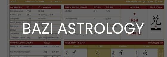 Chinese Metaphysic Bazi Astrology