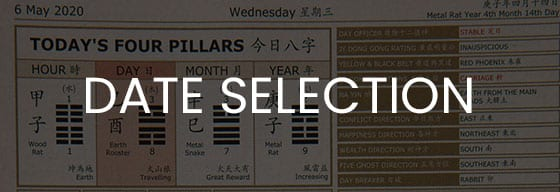 Chinese Metaphysic Date Selection